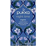Pukka Herbs Night Time Tea Bags,20 Grams,20 Pieces