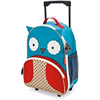 Skip Hop Kids Luggage With Wheels, Owl