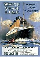 WENTWORTH(ウエントワース) 木造ジグソーパズル WW029 Titanic 'Poster'(Maxi 250ピース 360×250mm)