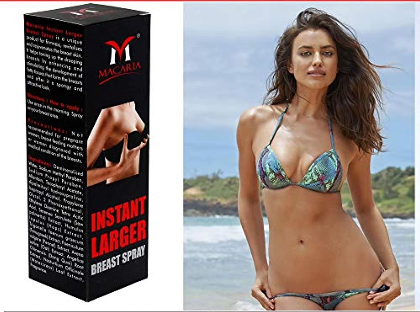ライフル倍増上がるENLARGEMENT BREAST CREAM SPRAY