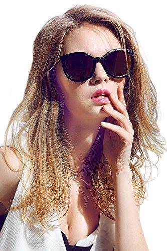 Diamond Candy レディーズ ファッションデザイン UVカット 偏光サングラス UV400ゴーグル ウイング形