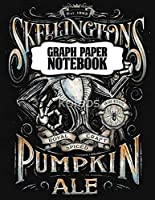 Graph Paper Notebook: Nightmare Before Christmas Jack Skellington Graph Paper Notebook Cute Drawing Photo Art Incredible Soft Glossy Wide Ruled Fantastic with Ruled Lined Paper for Taking Notes Writing Workbook for Teens and Children Students School Kids