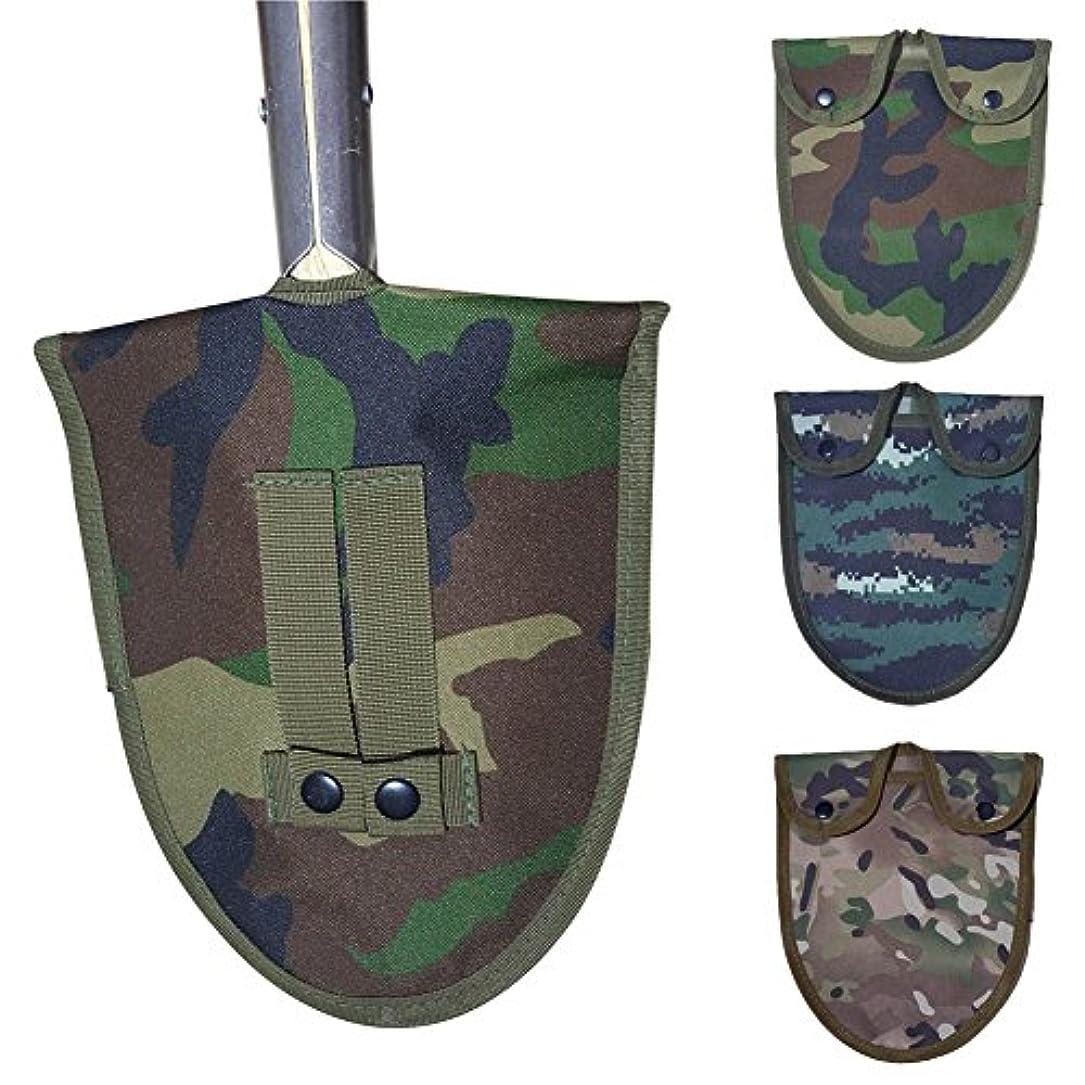 喜劇排泄する微弱adealinkオックスフォード布ハンドルショベルカバーArmy Camouflage Militaryツールキットバッグ