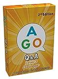 AGO エーゴ カードゲーム Q&A オレンジ (レベル3) 第2版 【 英語 教材 ゲーム 】 AGO Card Game Q&A Orange (Level3) 2nd Edition