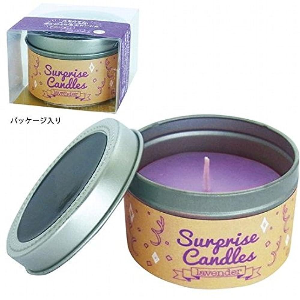 朝ごはん可能にする安心カメヤマキャンドル(kameyama candle) サプライズキャンドル 「ラベンダー」