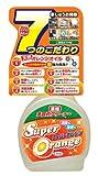スーパーオレンジ 消臭・除菌 泡タイプ 天然オレンジオイル配合 多目的クリーナー 本体480ml
