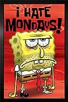 Spongebob - I Hate Mondays Framed Poster - 94.5x64cm