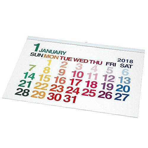 エトランジェディコスタリカ 2018年 カレンダー 壁掛け A1 ホワイト CLC-A1-01
