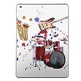 第5世代 iPad iPad5 2017年モデル スキンシール apple アップル アイパッド A1822 A1823 タブレット tablet シール ステッカー ケース 保護シール 背面 人気 単品 おしゃれ ジャズ 音楽 楽器 014814