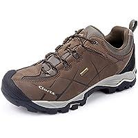 Clorts Men's Nubuck Waterproof Hiking Shoe Backpacking Outdoor Hiker Trail Shoe HKL805A