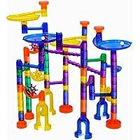 ボールトラック  組み立て式積み木  ビルディングブロック  組み立て式ブロック  子供知恵おもちゃ組み立て式パズル  122 PCS