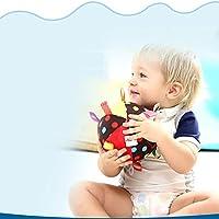 カラフルな動物感覚手は赤ちゃんの幼児早期教育玩具人形用のぬいぐるみぬいぐるみラトル布ボールをつかみ