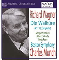 Wagner Act I From 'Die Walkure'. (Margaret Harshaw Soprano. Albert Da Costa Tenor. James Pea by VARIOUS ARTISTS