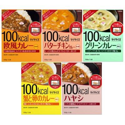 大塚食品 マイサイズカレー5種食べ比べセット (5種類各2個入り)