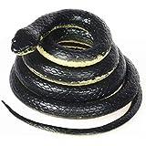 YUCHENG ドッキリ ゴム蛇 おもちゃ スネーク 133cm ゴム製 ジョークグッズ
