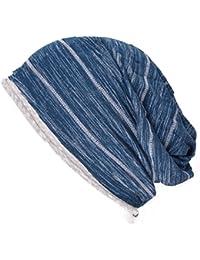 (カジュアルボックス)CasualBox スペース ライン ビックワッチ フリーサイズ 夏 サマーニット帽 帽子 大きいサイズcharm チャーム
