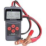 バッテリーテスター、バッテリー診断機 6-30V 40-2000CCAバッテリーチェッカー バッテリー診断機 日本語対応 冬の車/オートバイ/スノーモービルオートバイのバッテリーヘルスをチェックします