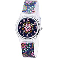 Zeiger Time Teacher Little Girls Boys Children's First Wrist Kids Cartoon Character 3D Watches