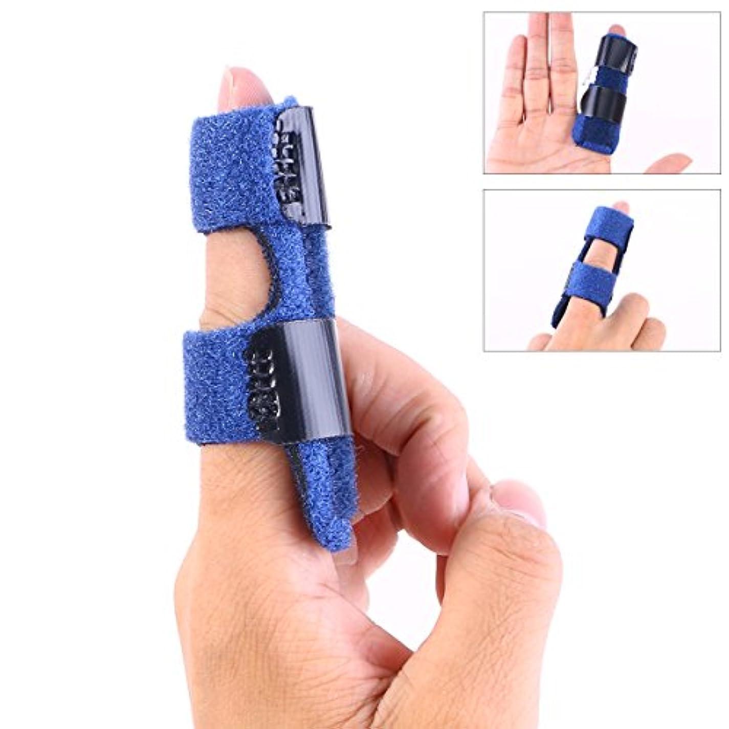 モッキンバード等しいサンプルHealiftyフィンガースプリントマレットフィンガーサポートブレースフラクチャージョイントスプリントプロテクター用トリガージョイント保護指