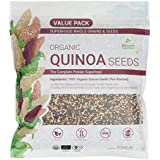 Nature's Superfoods Organic Tricolor Quinoa Seeds, 1kg