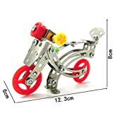 Fenteer メタル DIY タンクモデル 建設 教育玩具 3D DIY ブロック 組立玩具 全11選択 - LX002