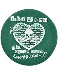 HELLCATPUNKS(ヘルキャットパンクス) ハートプリントベレー帽 HCP-B312-20 F GREEN