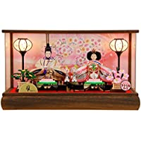 K114 雛人形ケース飾り オルゴール付