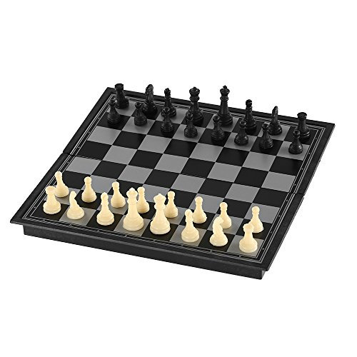 Docooler 磁気チェスセット 国際チェス フォールディングボード付き