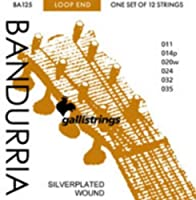 CUERDAS BANDURRIA - Galli (Plana 014P) 2ェ (12 Unidades)