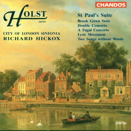 Gustav Holst: St Paul's Suite for string orchestra Op29/2