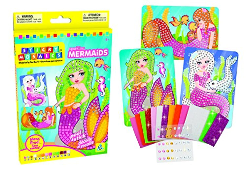 Sticky Mosaics Sparkling Mermaids