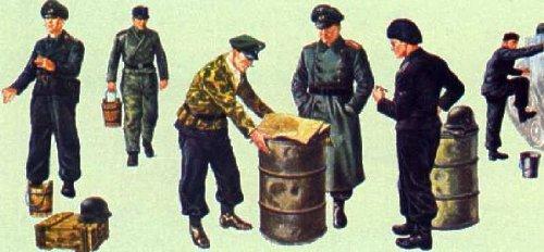 イタレリ 306 1/35 ドイツ戦車兵