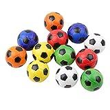 KLUMA おもちゃ ミニサッカーボール 子供 スポーツ カラー 柔らかい 可愛い プレゼント 持ち運び便利 12個セット