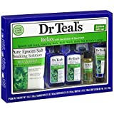 Dr Teals Relax with Eucalyptus and Spearmint 5 Piece Gift Set