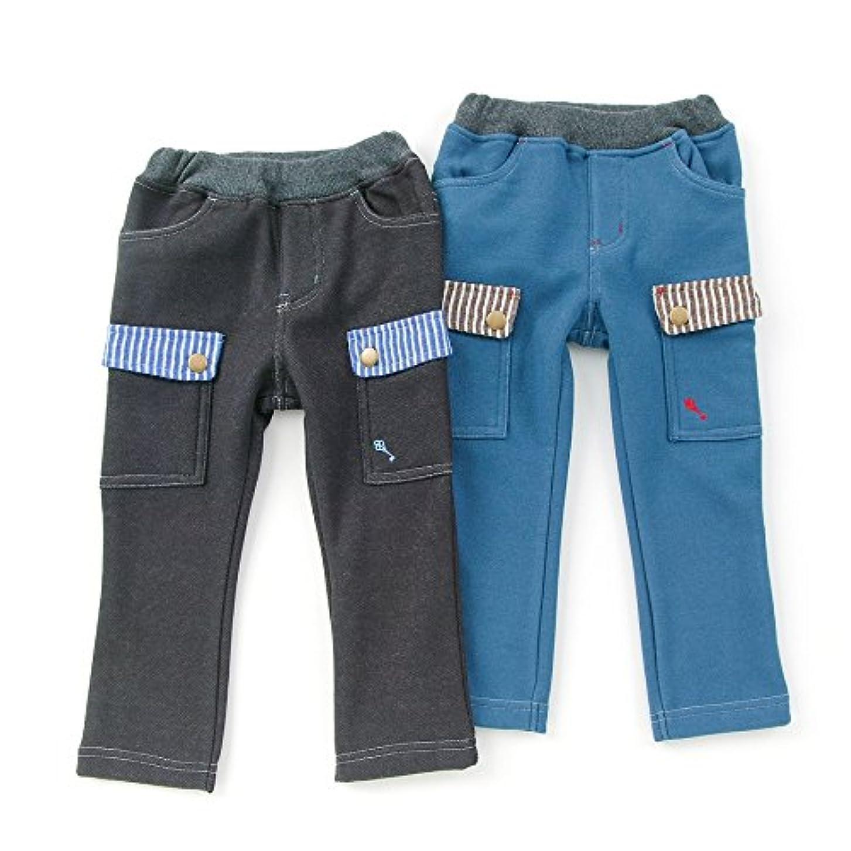ほとんどない細い保安La Chiave (ラ キエーベ ) 長丈パンツ (80~130cm) キムラタンの子供服 (53368-174)