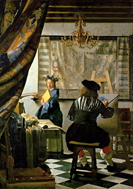 Wentworth木製ジグソーパズル250ピース – Vermeer – アートの絵画