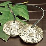 チベット密教 ティンシャ(チベタンシンバル) 八吉祥(八つの幸運のシンボル) 小