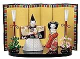 富貴立雛 木目込み雛人形 材料セット(手芸材料・人形キット)