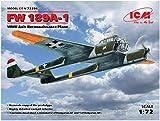 ICM 1/72 ドイツ空軍 フォッケウルフFw189A-1 偵察機 プラモデル 72294