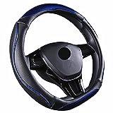 ZATOOTOハンドルカバー d型 ステアリングカバー おしゃれ 握りやすい sサイズ LY123-L