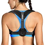 Back Posture Corrector for Women & Men,Tomight Adjustable Back Brace for Improving Posture-Clavicle Support for Slouching & Hunching-Upper Back/Relief Neck Shoulder Pain