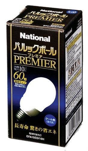 パナソニック 60形 E26 電球形蛍光灯 パルックボール ...
