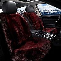 BWAM 車用シートクッションパッド 1ピース インスタント加熱 12V 高温 高温 車シートカバー シートヒーター ウォーマー 車 自宅 オフィスチェア用 レッド BWAM