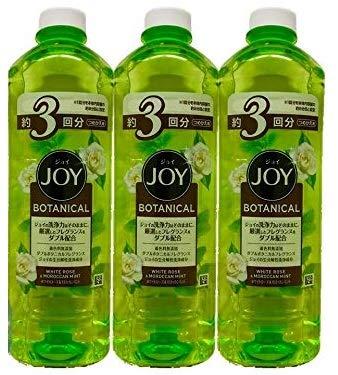 ジョイ JOY ボタニカル ホワイトローズ&モロッカンミント 詰め替え 440ml 1セット(2個) 食器用洗剤 P&G