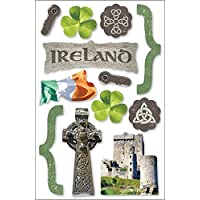 Paper House 3D Stickers-Ireland (並行輸入品)