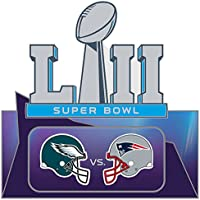 Super Bowl LII ( 52 ) Patriots vs. Eagles Duelingピン