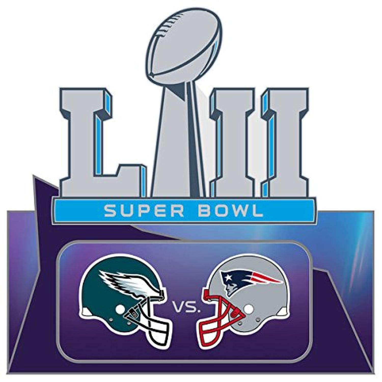 Super Bowl LII ( 52 ) Patriots vs. Eagles Duelingピン