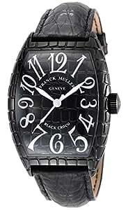 [フランクミュラー]FRANCK MULLER 腕時計 トノーカーベックス ブラック文字盤 クロコ革ベルト 自動巻 8880SCBLKCRO メンズ 【並行輸入品】