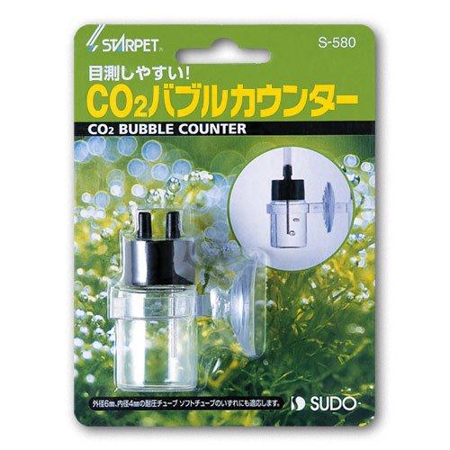スドー CO2 バブルカウンター