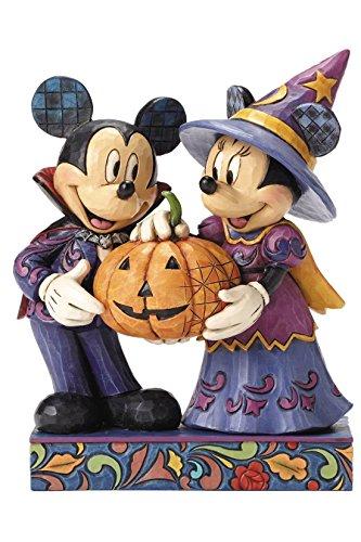 エネスコ ディズニー・トラディションズ/ ミッキーマウス&ミニーマウス ハロウィン スタチュー
